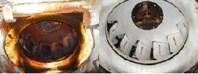 Before and After Exhaust Fan Cleaning
